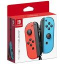 任天堂 Nintendo 【純正】Joy-Con(L) ネオンレッド/(R) ネオンブルー【Switch】