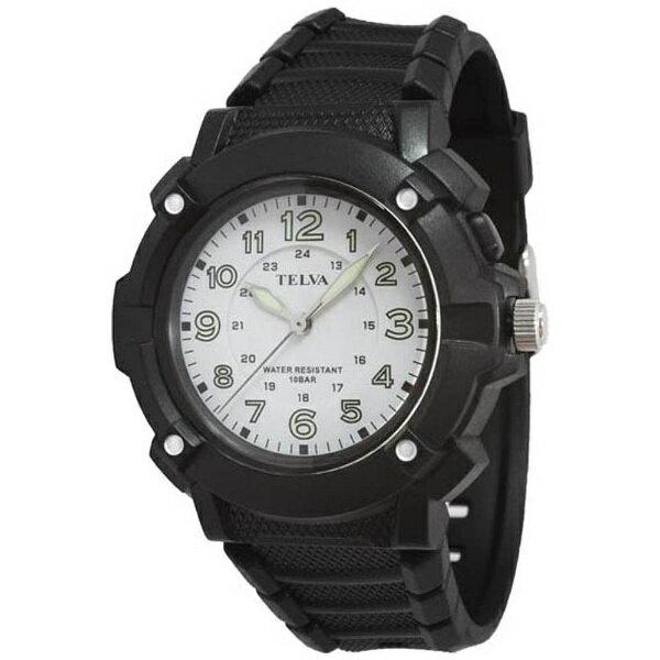 クレファー テルバ(TELVA) 紳士用腕時計 TEV-2344-WT
