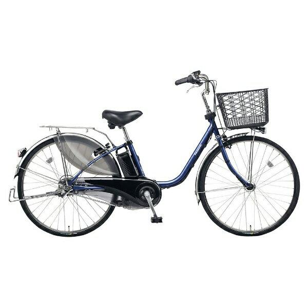 【送料無料】 パナソニック PANASONIC 26型 電動アシスト自転車 ビビ・EX(インディゴブルーメタリック/内装3段変速) BE-ELE633V【2017年モデル】【組立商品につき返品】 【配送】【メーカー直送・・時間指定・返品】 【仕分け】