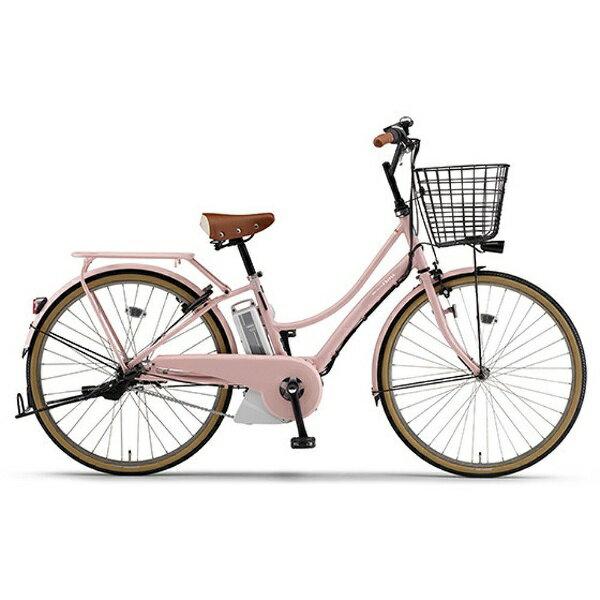 【送料無料】 ヤマハ YAMAHA 26型 電動アシスト自転車 PAS Ami(サクラピンク/内装3段変速) PA26A【2017年モデル】【組立商品につき返品】 【配送】【メーカー直送・・時間指定・返品】