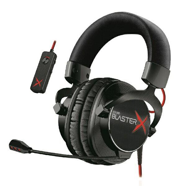 ゲーミングヘッドセット「Sound BlasterX H7 Tournament Edition」