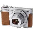 【送料無料】 キヤノン コンパクトデジタルカメラ PowerShot(パワーショット) G9 X Mark II(シルバー)