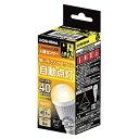 ドウシシャ LED人感センサー電球 40W 電球色相当 E17 LVA40LHMS[LVA40LHMS]■