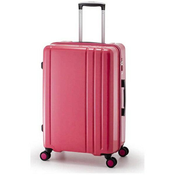 【送料無料】 A.L.I TSAロック搭載スーツケース RUNWAY(60L) BC1002 ピンク【ビックカメラグループオリジナル】