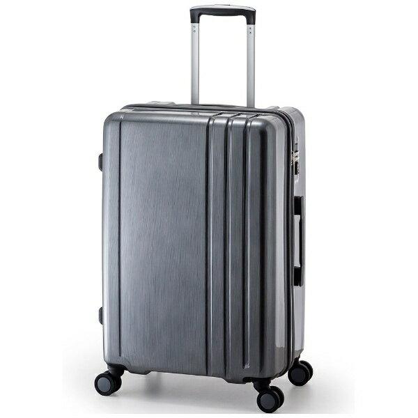 【送料無料】 A.L.I TSAロック搭載スーツケース RUNWAY(60L) BC1002 ガンメタブラッシュ【ビックカメラグループオリジナル】