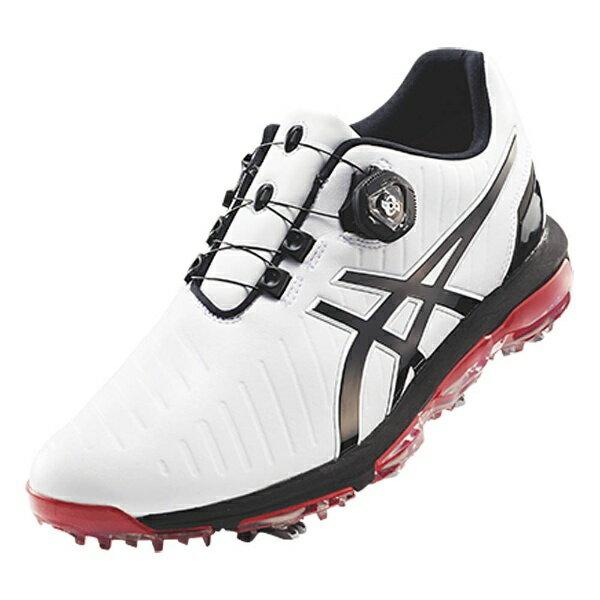 【送料無料】 アシックス メンズ ゴルフシューズ GEL-ACE PRO 3 Boa(26.5cm/ホワイト×ブラック) TGN919_0190