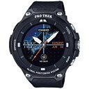 【送料無料】 カシオ スマートウォッチ 「Smart Outdoor Watch PRO TREK Smart」 (ブラック) WSD-F20-BK