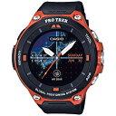 カシオ スマートウォッチ 「Smart Outdoor Watch PRO TREK Smart」 (オレンジ) WSD-F20-RG WSDF20RG