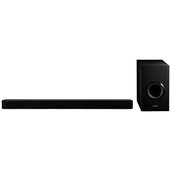 パナソニック Panasonic ホームシアターセット バータイプ SC-HTB488-K ブラック [フロント・バー][SCHTB488K] panasonic