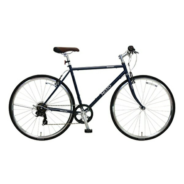 【送料無料】 NESTO 700×28C型 クロスバイク VACANZE S(マットブルー/520サイズ《適応身長:165cm以上》) NE-17-006【組立商品につき返品】 【配送】【メーカー直送・・時間指定・返品】