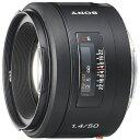 ソニー SONY カメラレンズ 50mm F1.4 ブラック SAL50F14 [ソニーA(α) /単焦点レンズ][SAL50F14]
