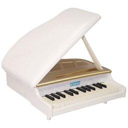 【送料無料】 河合楽器 ミニグランドピアノ ホワイト 1118