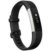 FITBIT ウェアラブル端末 心拍計+フィットネス リストバンド 「Fitbit Alta HR」 Lサイズ FB408SBKL-CJK Black[FB408SBKLCJK]