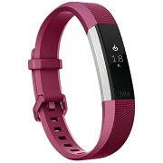 FITBIT ウェアラブル端末 心拍計+フィットネス リストバンド 「Fitbit Alta HR」 Sサイズ FB408SPMS-CJK Fucshia[FB408SPMSCJK]