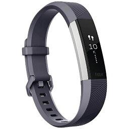 【送料無料】 FITBIT ウェアラブル端末 心拍計+フィットネス リストバンド 「Fitbit Alta HR」 Lサイズ FB408SGYL-CJK Blue Gray