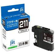 ジット JIT JIT-B211B リサイクルインクカートリッジ ブラック[JITB211B]