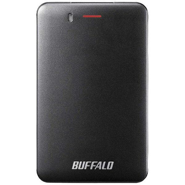 BUFFALO バッファロー SSD-PM240U3A-B 外付けSSD SSD-PMU3Aシリーズ ブラック [ポータブル型 /240GB][SSDPM240U3AB]