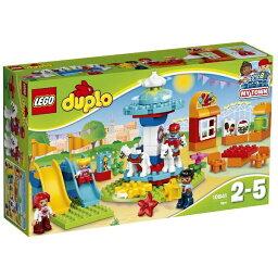 """【送料無料】 レゴジャパン LEGO(レゴ) 10841 デュプロ デュプロ(R)のまち """"たのしい遊園地"""""""
