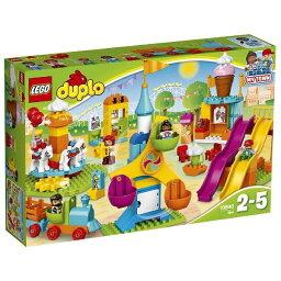 """【送料無料】 レゴジャパン LEGO(レゴ) 10840 デュプロ デュプロ(R)のまち """"おおきな遊園地"""""""