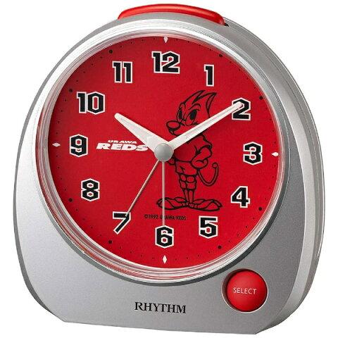 リズム時計 メロディ目覚まし時計 「URAWA REDS」 4ZM606RD19