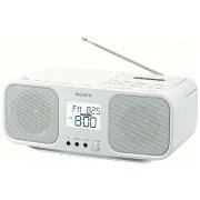 【送料無料】 ソニー SONY CDラジカセ(ホワイト) CFD-S401 WC[CFDS401WC]