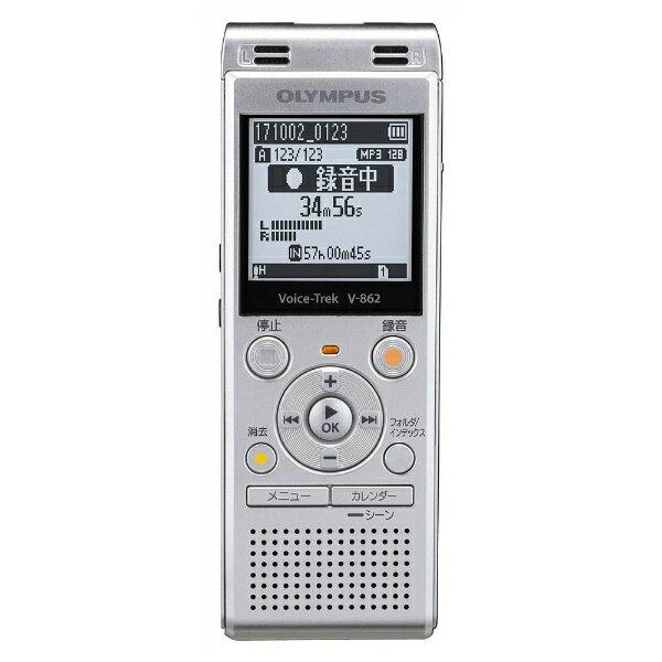【送料無料】 オリンパス ICレコーダー(シルバー) Voice Trek V-862 SLV