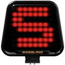 WINGSLAND 【S6専用】 絵文字ディスプレイ(ブラック/オレンジ)LS303000177