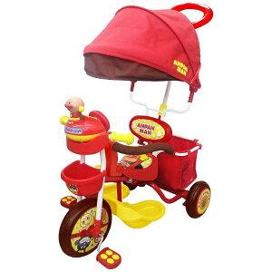 【送料無料】 エムアンドエム ブザー付きおでかけ三輪車 それいけ!アンパンマンデラックス