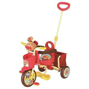 【送料無料】 エムアンドエム おでかけ三輪車 わくわくアンパンマンごうピース
