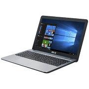【送料無料】 ASUS エイスース X541UA-S256G ノートパソコン VivoBook シルバーグラディエント [15.6型 /SSD:256GB /メモリ:4GB /2017年6月モデル][X541UAS256G]
