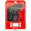 アンサー Switch Proコントローラ用 シリコンプロテクト ブラック ANS-SW029BK[Switch]