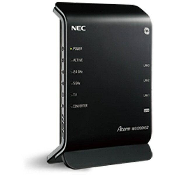 【送料無料】 NEC 無線LANルータ 親機単体 [無線ac/a/n/g/b・有線LAN WAN Android/iOS/Mac/Win] 867+300Mbp...