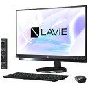 【送料無料】 NEC 23.8型デスクトップPC[TVチューナ・4K・Office付き・Win10 Home・Core i7・HDD 4TB・メモリ 8GB] LAVIE Desk ALL-in-one ファインブラック PC-DA970HAB (2017年夏モデル)