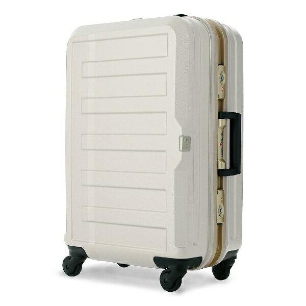 【送料無料】 レジェンドウォーカー TSAロック搭載スーツケース(47L) ポリカーボネート100%シボ加工 5088-55-IV アイボリー 【メーカー直送・代金引換不可・時間指定・返品不可】