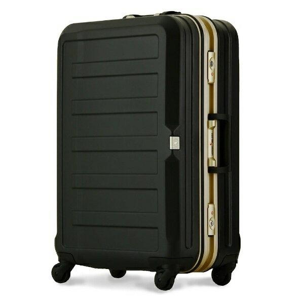 レジェンドウォーカー TSAロック搭載スーツケース(61L) ポリカーボネート100%シボ加工 5088-60-BK ブラック【sc_pup】 【メーカー直送・代金引換不可・時間指定・返品不可】