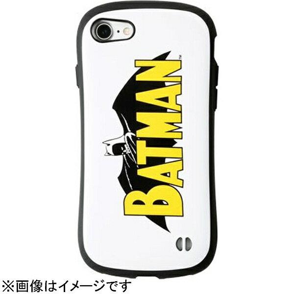HAMEE iPhone 7用 BATMAN iFace First Classケース バットマン/ネームロゴ