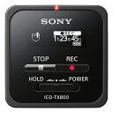 【送料無料】 ソニー リニアPCMレコーダー 【16GB】 (ブラック) ICD-TX800 BC[ICDTX800BC]