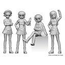 プラッツ PLATZ 1/35 ガールズ&パンツァー 劇場版 カバさんチーム フィギュアセット パンツァージャケットバージョン