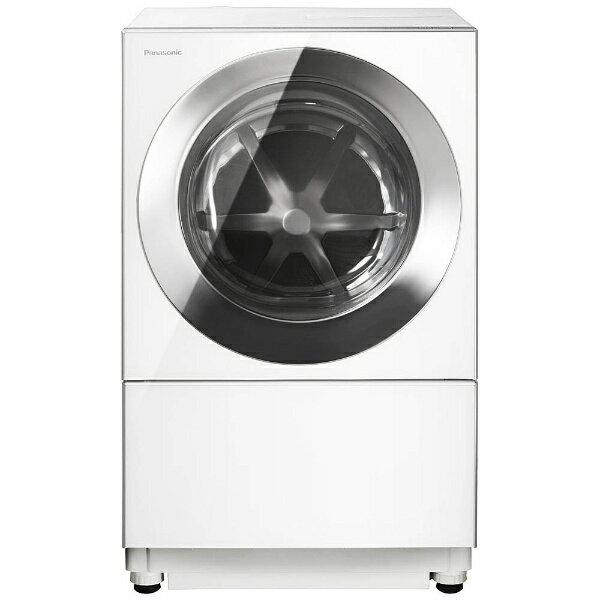 【標準設置費込み】 パナソニック [左開き]ドラム式洗濯乾燥機 (洗濯10.0kg/3.0乾燥kg)「キューブル」 NA-VG1200L-S シルバーステンレス 【洗濯槽自動お掃除・ヒーター乾燥機能付】[NAVG1200LS] panasonic