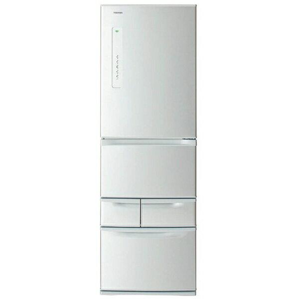【標準設置費込み】 東芝 TOSHIBA GR-M41G-S 冷蔵庫 VEGETA(ベジータ)Gシリーズ シルバー [5ドア /右開きタイプ /411L]