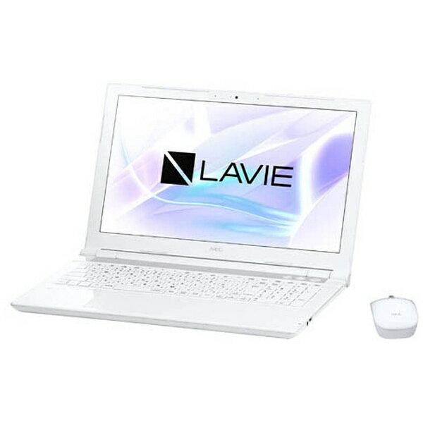 【送料無料】 NEC 15.6型ワイドノートPC LAVIE Note Standard[Office付き・Win10]PC-NS700JAW(2017年10月モデル・エクストラホワイト)[PCNS700JAW]