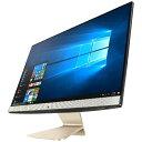 【送料無料】 ASUS 23.8型デスクトップPC[Win10 Home・Core i3・HDD 500GB・メモリ 4