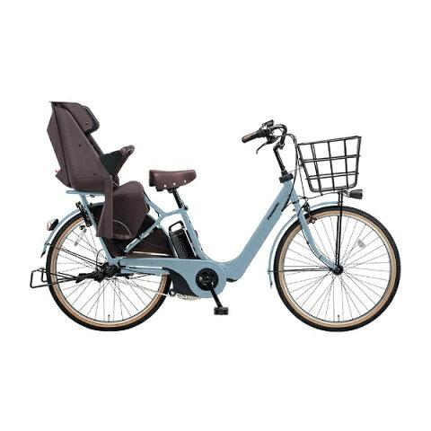 【送料無料】 パナソニック 26型 電動アシスト自転車 ギュット・アニーズ・F・DX(マットブルーグレー/内装3段変速) BE-ELA63V2【2018年モデル】【組立商品につき返品不可】 【代金引換配送不可】