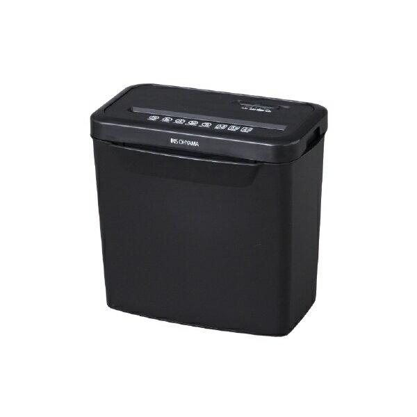 アイリスオーヤマ IRIS OHYAMA P5GCX 電動シュレッダー ブラック