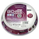 磁気研究所 Magnetic Laboratories HDVBE25NP10SP 録画用BD-RE PREMIUM HIDISC [10枚 /25GB /インクジェットプリンター対応]