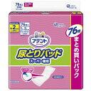 大王製紙 アテント尿とりパッドスーパー吸収女性用 (76枚) 〔尿もれシート・パッド〕