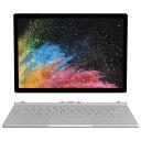 【送料無料】 マイクロソフト Microsoft 【2000円OFFクーポン配布中! 10/15 00:00〜23:59】HNL-00023 Windowsタブレット Surface Book 2 (サーフェスブック2) シルバー 13.5型 /SSD:512GB /メモリ:16GB /2018年4月モデル