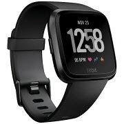 【送料無料】 FITBIT Fitbit フィットビット スマートウォッチ Versa Black/Black Aluminium L/Sサイズ FB505GMBK-CJK ブラック/ブラックアルミニウム
