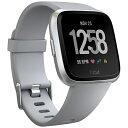 【送料無料】 FITBIT Fitbit フィットビット スマートウォッチ Versa Gray/Silver Aluminium L/Sサイズ FB505SRGY-CJK グレー/シルバーアルミニウム