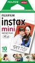 富士フイルム FUJIFILM チェキ インスタントカラーフィルム instax mini 1パック(10枚入)